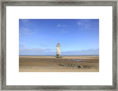 Talacre Beach - Wales Framed Print by Joana Kruse