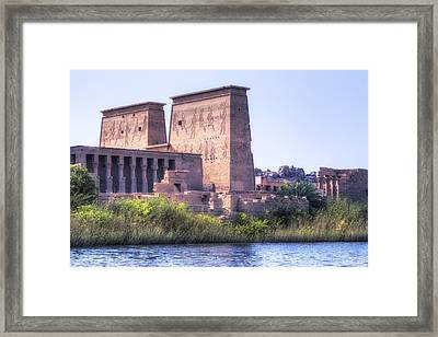Temple Of Philae - Egypt Framed Print by Joana Kruse