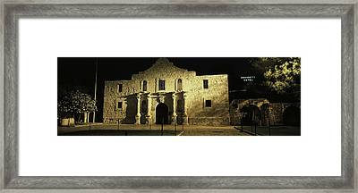 The Alamo San Antonio Tx Framed Print by Panoramic Images