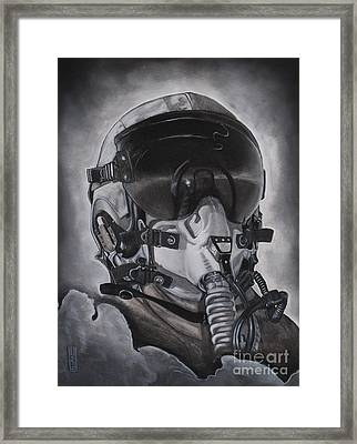 The Aviator Framed Print by Joe Dragt