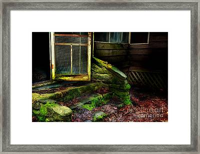 The Back Door Framed Print by Michael Eingle