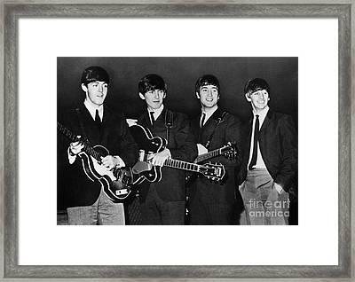 The Beatles Framed Print by Granger
