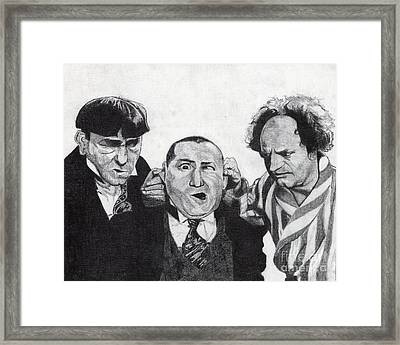 The Boys Framed Print by Jeff Ridlen