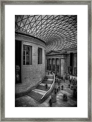 The British Museum Framed Print by Martin Newman