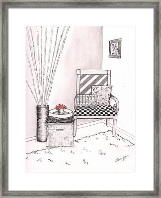 The Chair Framed Print by Jayne Somogy
