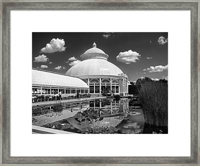 The Conservatory Framed Print by Jessica Jenney