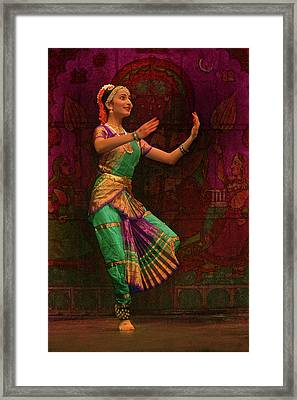 The Dance Framed Print by Jeff Burgess
