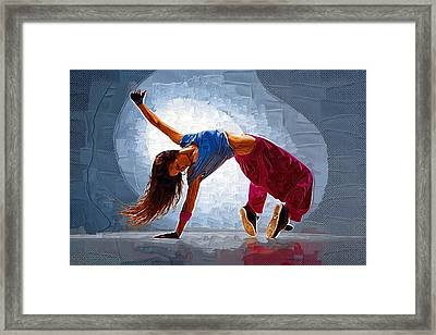 The Dance Framed Print by Michael Vicin