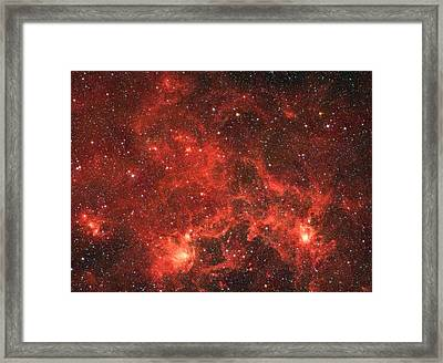 The Dragon Fish Nebula Framed Print by American School