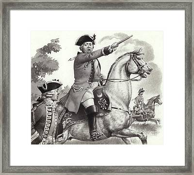 The Duke Of Cumberland Framed Print by Pat Nicolle