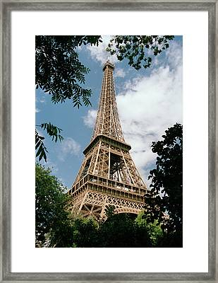 The Eiffel Tower, Paris Framed Print by Martin Diebel