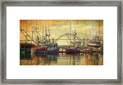 The Fishing Fleet Framed Print by Thom Zehrfeld