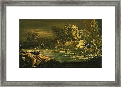 The Flood Framed Print by Arthur Bowen Davies