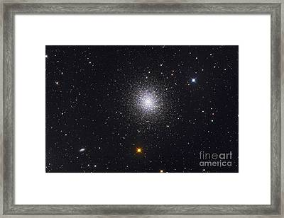 The Great Globular Cluster In Hercules Framed Print by Roth Ritter