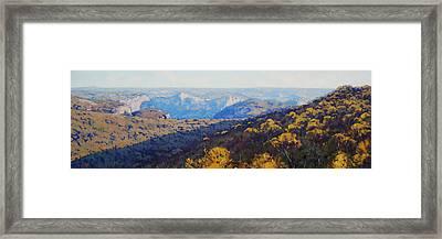 The Grose Valley Framed Print by Graham Gercken