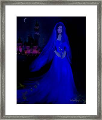 The Haunted Castle Framed Print by Thanh Thuy Nguyen