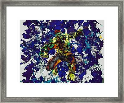 The Hulk  Framed Print by Brian Reaves