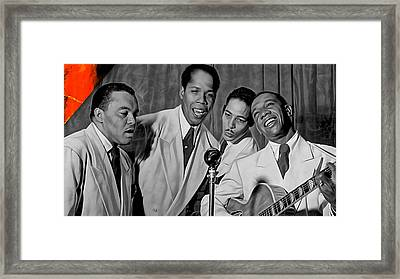 The Ink Spots Collection Framed Print by Marvin Blaine