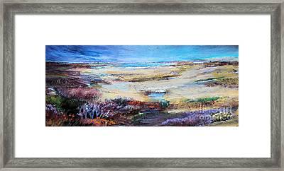 The Inlet Framed Print by Diane Ursin