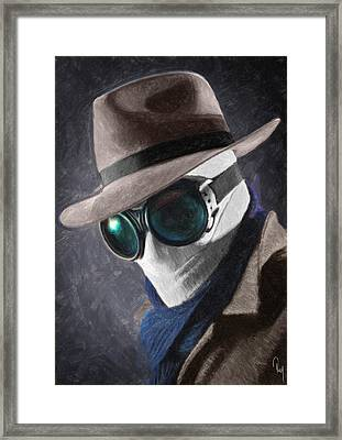 The Invisible Man Framed Print by Taylan Soyturk