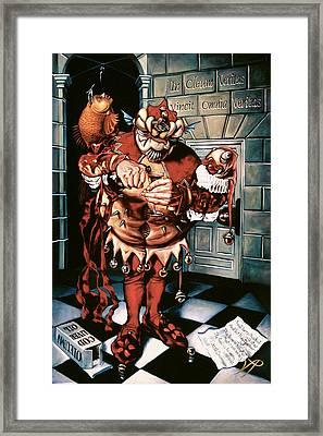 The Jesterook Framed Print by Patrick Anthony Pierson