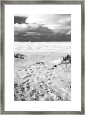 The Journey Begins Framed Print by Dan Sproul