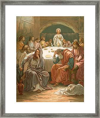 The Last Supper Framed Print by John Lawson