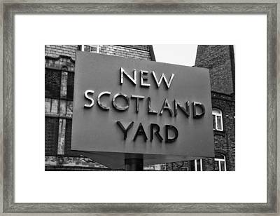The New Scotland Yard Framed Print by Mountain Dreams