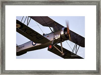 The Old Aircraft Framed Print by Angel  Tarantella