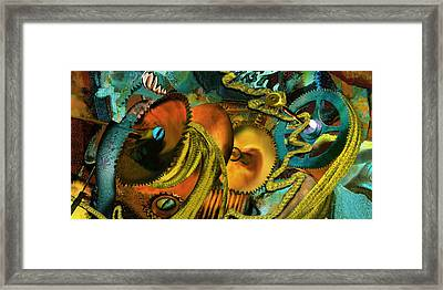The Riotous Rope Framed Print by Anne Weirich