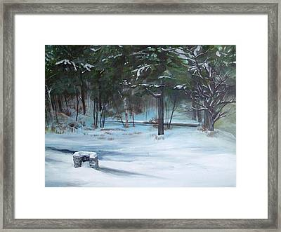 The Season Has Changed Framed Print by Chris Wing