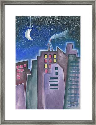The Sleepwalker II Framed Print by Graciela Bello