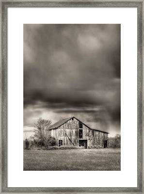 The Smell Of Rain Framed Print by JC Findley