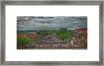 The Stockyards Station District Framed Print by Mountain Dreams