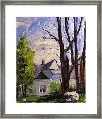 The Studio Framed Print by Charlie Spear