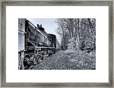 The Tanker Car Framed Print by David Patterson