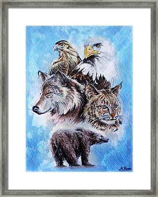 The Wildlife Collection Framed Print by Andrew Read