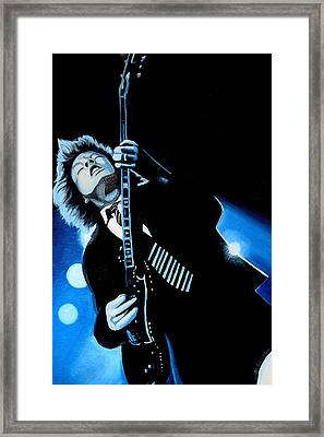 Thunderstruck Framed Print by Al  Molina