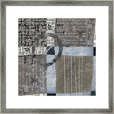Tidal Crossing  Framed Print by Carol Leigh