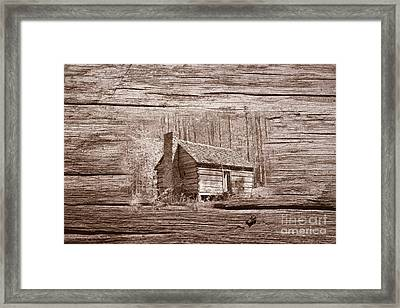 If The Walls Could Talk #1 Framed Print by Geraldine DeBoer