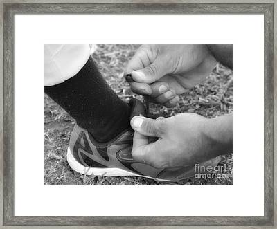 Time Out Framed Print by Leah McPhail