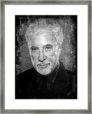 Tom Jones Framed Print by Andrew Read
