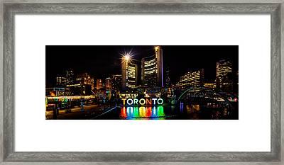 Toronto Framed Print by Wilhelm Guerrero
