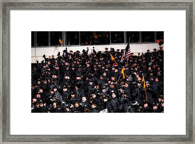 Touchdown Army Framed Print by Mountain Dreams