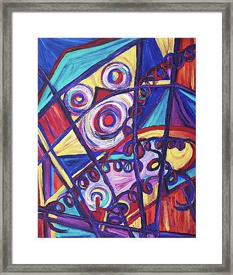 Trapped Framed Print by Suzanne  Marie Leclair