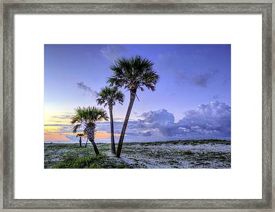 Tres Framed Print by JC Findley