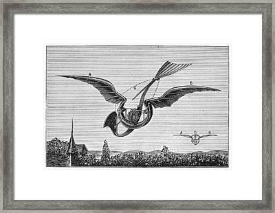 TrouvÉs Ornithopter Framed Print by Granger