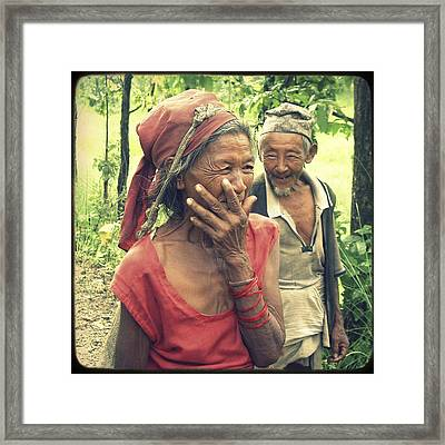 True Love Framed Print by Danny Van den Groenendael