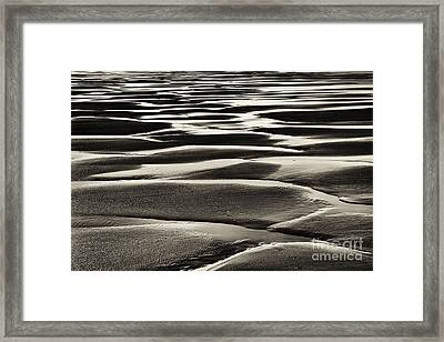 Turning Of The Tide Framed Print by Tim Gainey