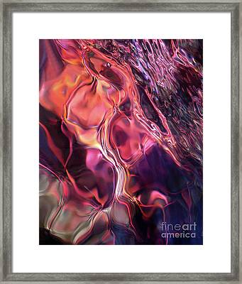 Underwater Silk Framed Print by Terril Heilman